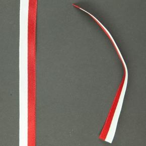 Tasiemka biało-czerwona 2