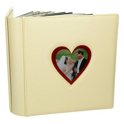 Album ślubny w kolorze kości słoniowej 0312