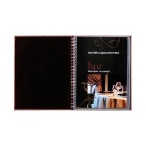 Album skóropodobny z wkładami na spirali 0426_2