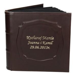 Album w skórze z czarnymi kartami 0477_2