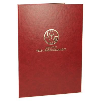 Okładka na dyplom DYPL-6 ze złoconym logo 0483