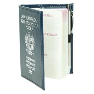 Etui na paszport i legitymację ENP-1 (ekoskóra) 0892_2