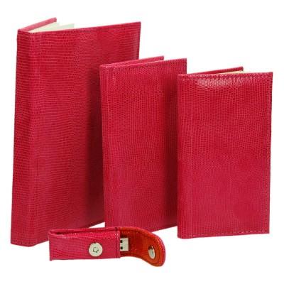 Różowa skóra w wyrobach na zamówienie 0618