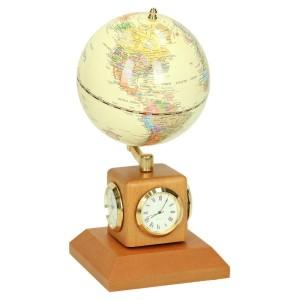 Globus na biurko z zegarkiem i termometrem 0475_1 Pozostałe propozycje