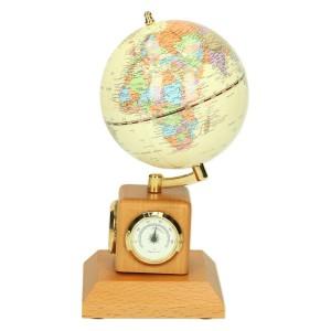 Globus na biurko z zegarkiem i termometrem 0475_2 Pozostałe propozycje