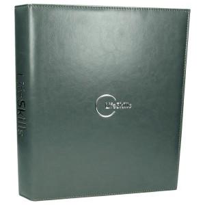 Hot-stamping folią srebrną na grzbiecie 0860_1