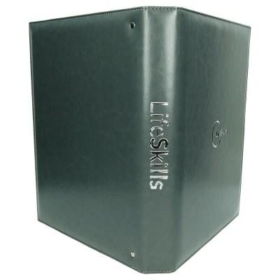 Teczka segregator SEG-1 w kolorze szarym 0860