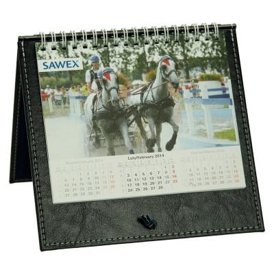 Kalendarz stojący na biurko na spirali 0640