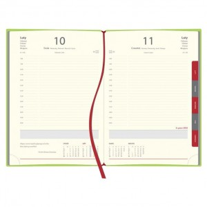 Kalendarz książkowy z registrami KAL-2R (ekoskóra) 0557_1