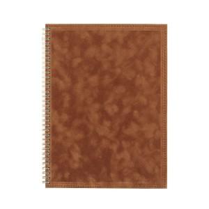 Kalendarze ksiązkowe na spirali w oprawie zamszowej 0449_2