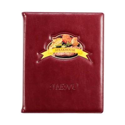 Menu dla restauracji z aplikacją i tłoczeniem 0369