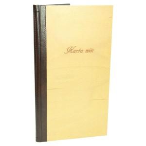 Karty win na zamówienie produkcja 0995_1 Okładki na karty menu
