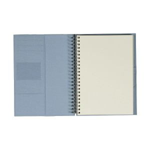 Kołonotes z kieszonkami i miejscem na długopis 0512_1