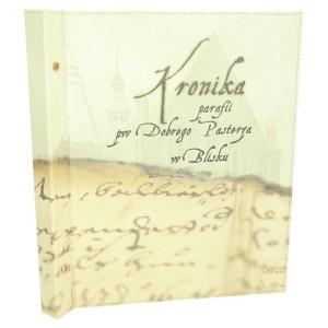 Kronika dla parafii - możliwość wypinania kartek 0331_1 Kroniki, księgi
