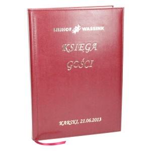 Księga gości z logo złoconym 0476_1 Kroniki, księgi