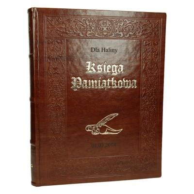Księga pamiątkowa z grawerem 0848