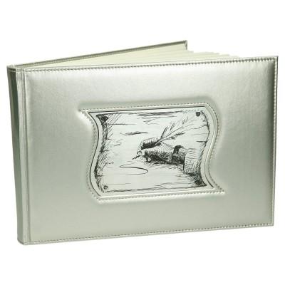 Księga pamiętnik z intersją z laminatu grawerskiego 0388