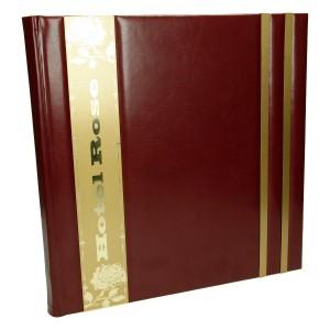 Księga z grawerem na aluminium anodowanym 0395_5