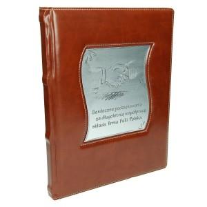 Księga z grawerowaną wstawką z laminatu 0596_2