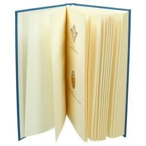 Księga z płótna impregnowanego z zadrukowaną pierwszą stroną 0642_2