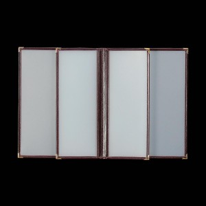 Okładka foliowa z wszytą w środek mniejszą kartą 0724_1