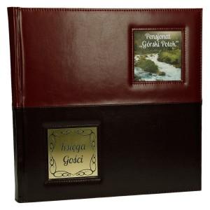 Pamiątkowa księga dla gosci hotelu 0587_1 Księgi wpisów/rezerwacji