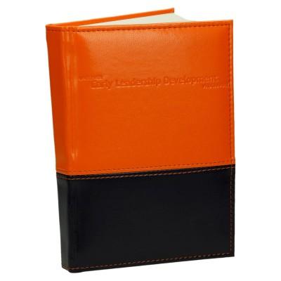 Notes skóropodobny z łączeniem materiałów 0644