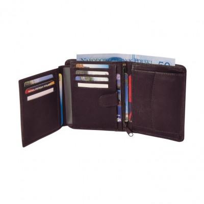 Skórzany portfel P-1 3090