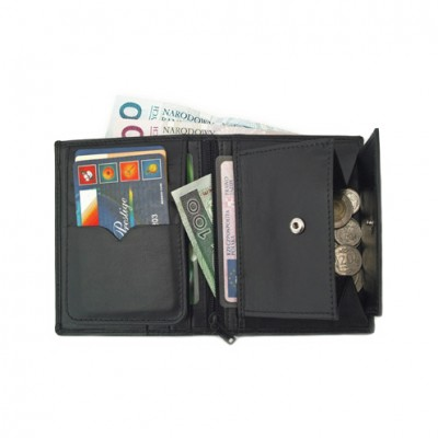 Skórzany portfel P-11 0564