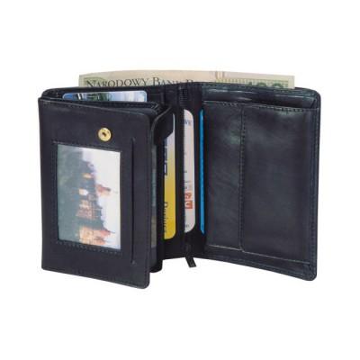Skórzany portfel P-3 3092