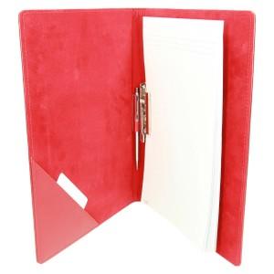 Tworzywo skóropodobne czerwone 0659_1 Clipboard - z klipem