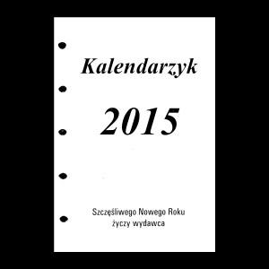 Wkład kalendarzowy do organizera Mikro tydzień na stronie 1