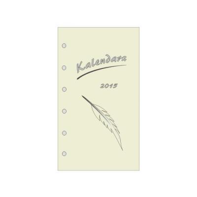 Wkład kalendarzowy do organizera MINI tydzień na dwóch stronach