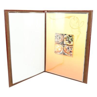 Karta menu z wkładami foliowymi MENU-14 0502