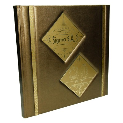 Księga pamiątkowa firmowa 0396