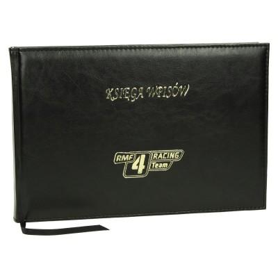 Księga wpisów z logo 0481