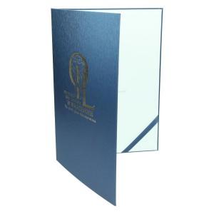 Złocone logo na oprawie dyplomu 0914_2