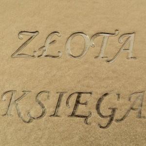 Złota księga wytłoczenie stemplem ZK-1 A-4 (ekoskóra) 0560_3