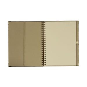 Złoty kalendarz z dodatkami dobranymi kolorystycznie 0448_1