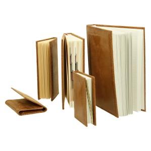Zestaw skórzany dwa notesy, kalendarz, notatnik i etui 0677_2