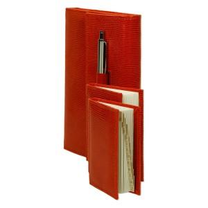 Zestaw skórzany notes, notatnik i notes teleadresowy 0676_2