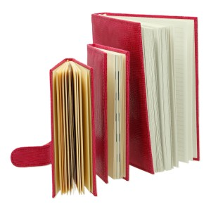 Zestaw skórzany notes, notatnik, kalendarz i etui 0675_2