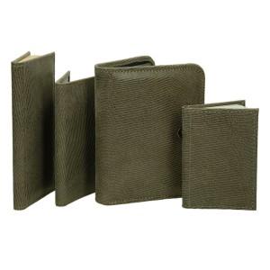 Zestaw skórzany organizer, notatnik, notes i etui 0674_1