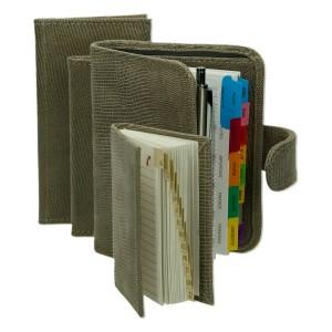 Zestaw skórzany organizer, notatnik, notes i etui 0674_2