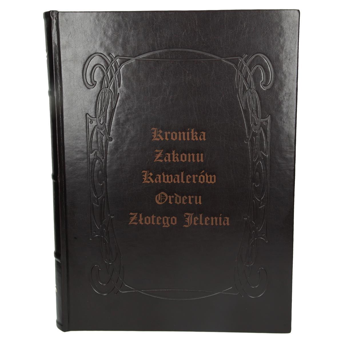 Kronika z grawerem na okładce 3278_1 Kroniki, księgi