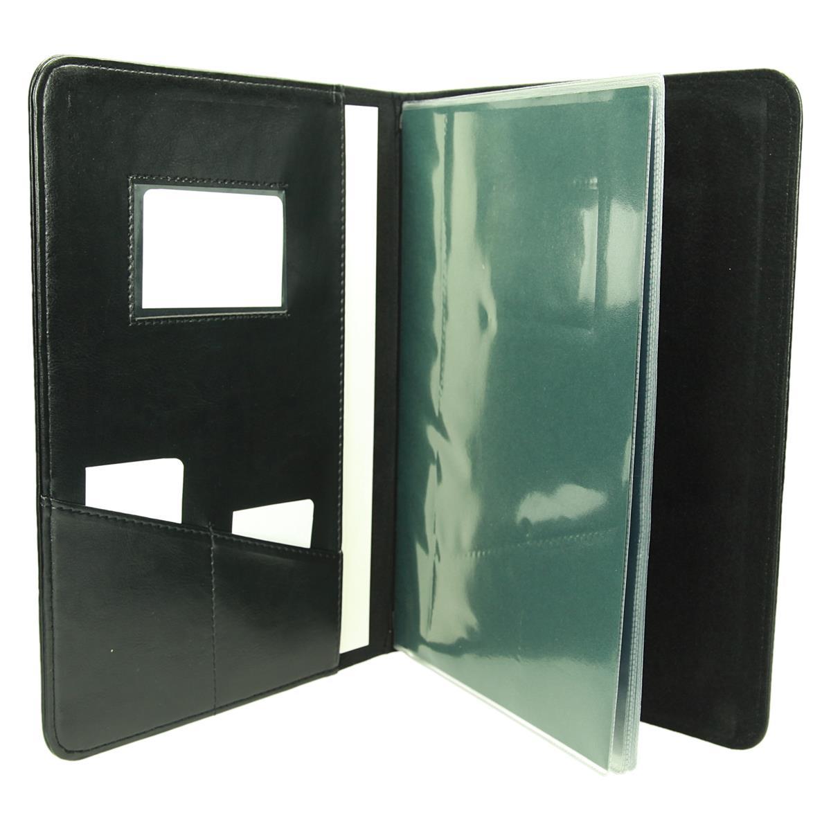Teczka z wkładami foliowymi (10 sztuk A-4) wszytymi na stałe 0437_1 Do prezentacji - ofertówki