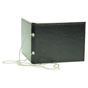 Etui wyposażone w srebrny łańcuszek kółkowy z zapinką do przewieszenia 0952_2