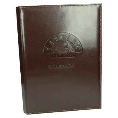 Oprawa karty menu z wkładem wymiennym na spirali 0961