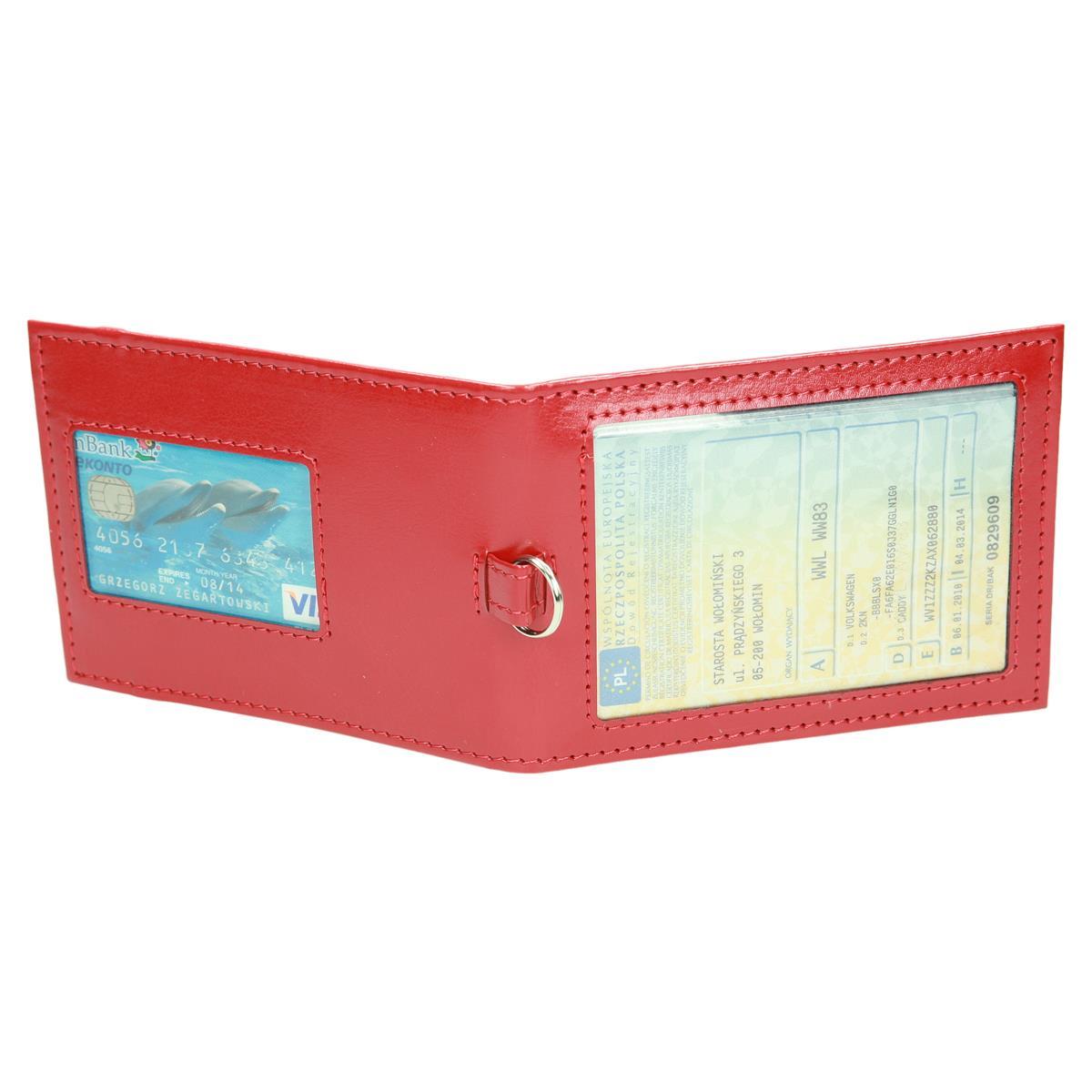 Etui z okienkiem na kartę i dowód rejestracyjny 0949_1 Etui na dokumenty