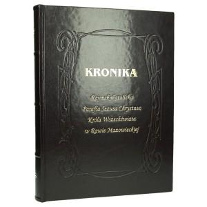 Złocone napisy tłoczone matrycą mosiężną 0358_1 Kroniki, księgi